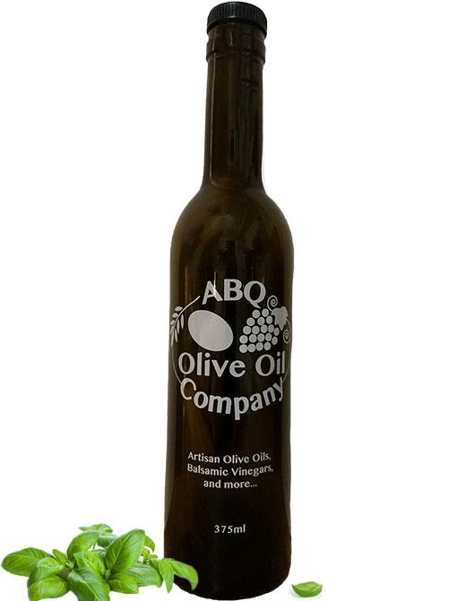 ABQ Olive Oil Company's basil olive oil