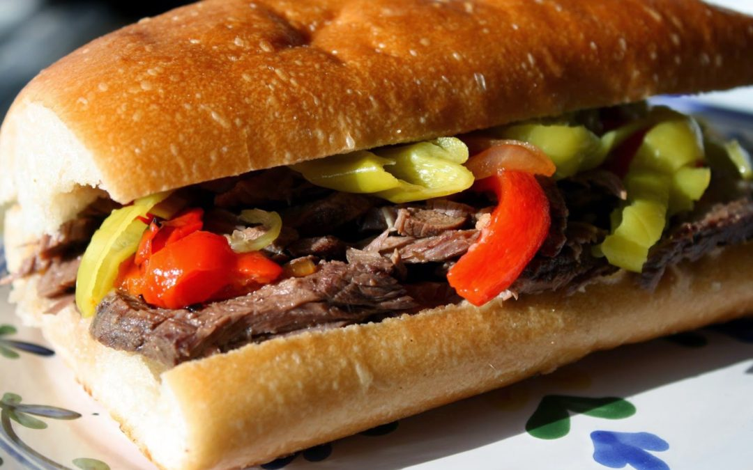 Tuscan Herb Olive Oil Rubbed Roasted Italian Beef