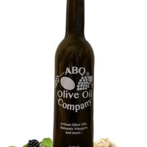 ABQ Olive Oil Company's blackberry ginger balsamic