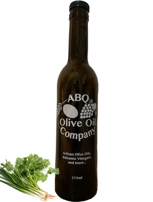 ABQ Olive Oil Company's cilantro onion olive oil