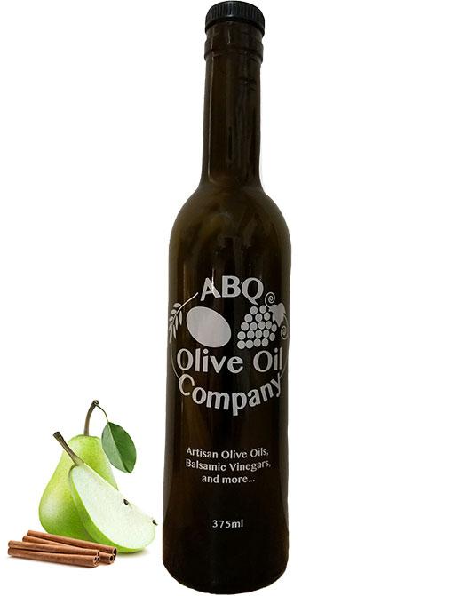 ABQ Olive Oil Company's cinnamon pear balsamic