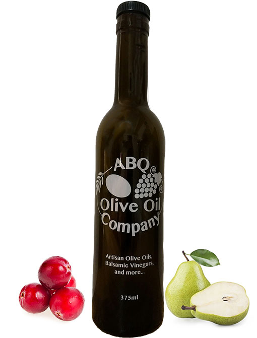 ABQ Olive Oil Company's cranberry pear balsamic