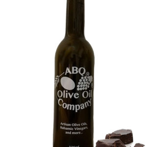 ABQ Olive Oil Company's dark chocolate balsamic
