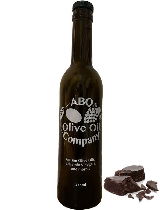 ABQ Olive Oil Company's dark chocolate balsamic