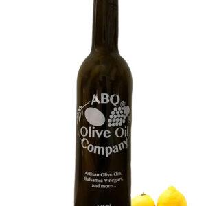 ABQ Olive Oil Company's eureka lemon olive oil