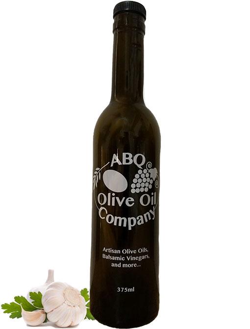 ABQ Olive Oil Company's garlic olive oil