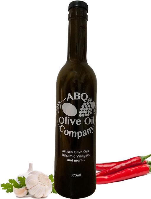 ABQ Olive Oil Company's harissa olive oil