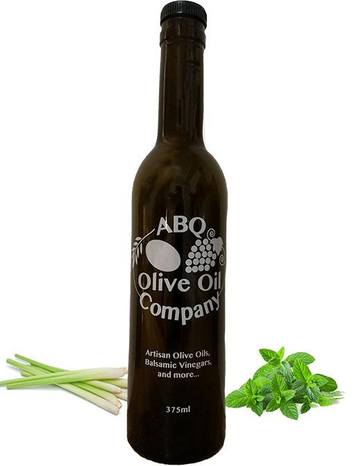 ABQ Olive Oil Company's lemongrass mint balsamic