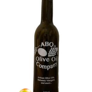ABQ Olive Oil Company's mango white balsamic