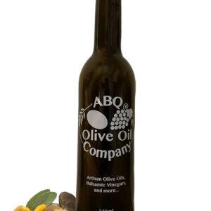 ABQ Olive Oil Company's mushroom sage olive oil