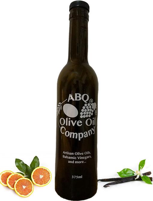 ABQ Olive Oil Company's orange vanilla balsamic