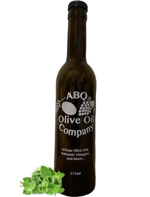 ABQ Olive Oil Company's oregano white balsamic