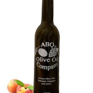 ABQ Olive Oil Company's peach balsamic