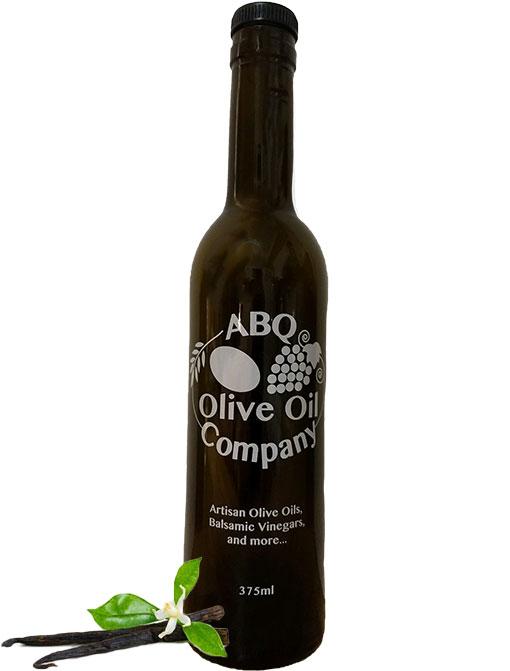 ABQ Olive Oil Company's vanilla dark balsamic